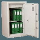 sikre brandskabe fra HV låseteknik
