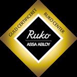 Ruko GULD Certificeret Låsesmed