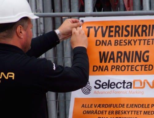 DNA mærkning i medvind