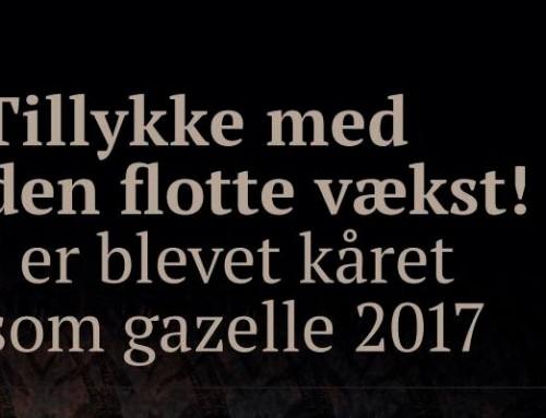 HV Låseteknik er Gazelle nomineret 2017